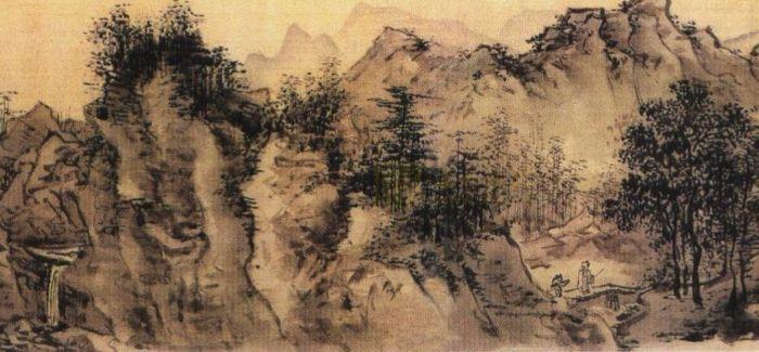 在波士顿美术馆的《长江万里图卷》