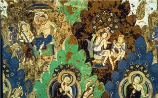 克孜尔石窟壁画的悲怆