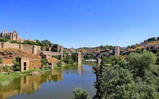 西班牙古桥 静默的惊艳
