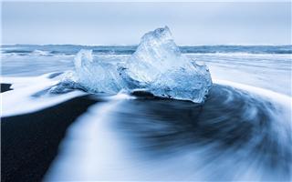 当北极冰川消融以后