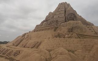 兰州新区沙雕艺术节:感受古今丝路文明