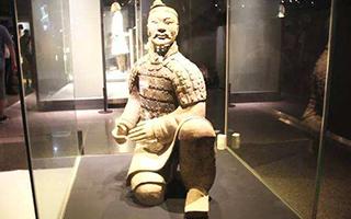 秦始皇帝陵与汉景帝阳陵出土陶俑展开展