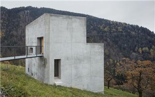 尽享无垠风景的奥地利极简住宅