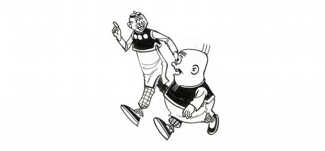 """""""老夫子""""聊发漫画收藏狂"""