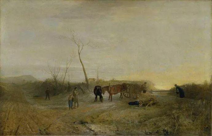英国风景画的真正奠基者是威尔逊和庚斯博罗,他们在意大利古典主义和