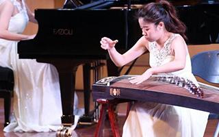 福州举行两岸青年古筝音乐会 绵延两岸情缘