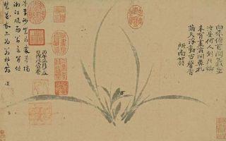 大阪市立美术馆中的王维和阿部房次郎