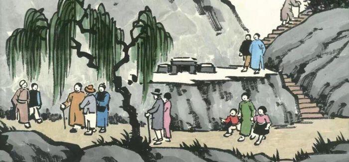 丰子恺人生与护生漫画纪念展杭州开展