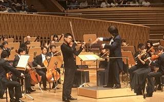 日本东京交响乐团上海奏响世界名曲