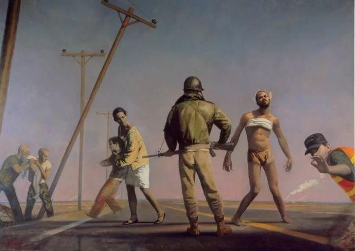 超现实主义画作的理性世界