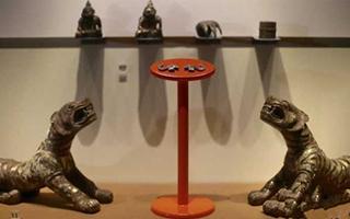汉代银带钩亮相南京博物院