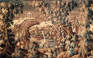 """被绣进欧洲挂毯的17世纪""""中国风"""""""