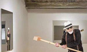 贫穷艺术先驱 皮斯特莱托挥锤北京
