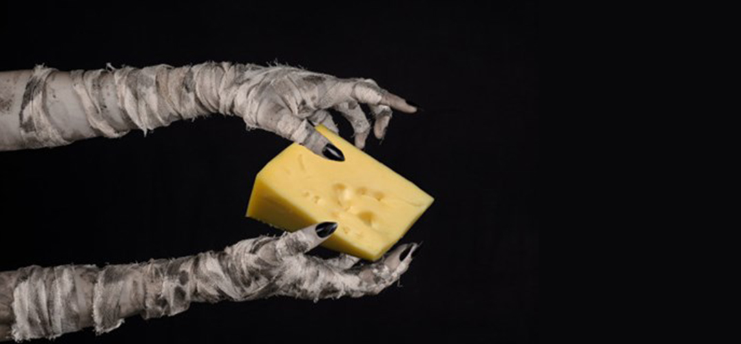 考古学家在公元前13世纪埃及古墓中发现一块奶酪