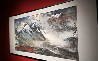 陆秀竞中国画作品展在中国美术馆开幕