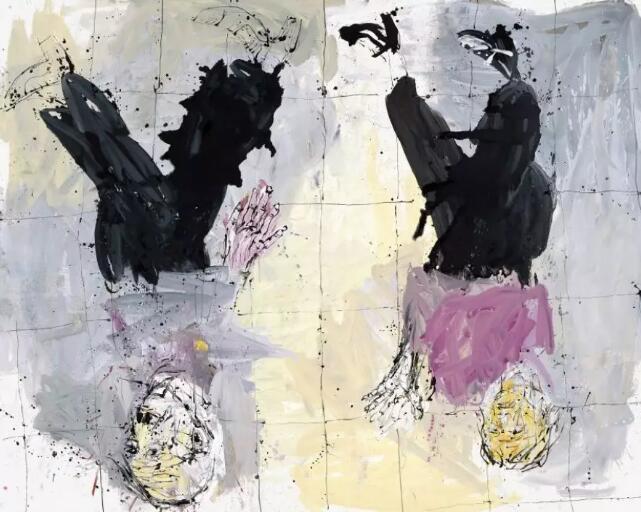 Georg Baselitz, Adieu (Remix), 2006, oil on canvas © 2018 Georg Baselitz