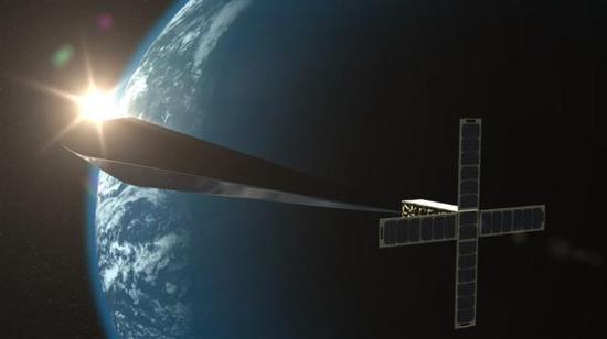 《轨道发射器》渲染图,版权归特雷弗·帕格伦与内华达艺术博物馆