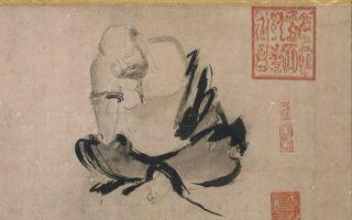 中国书画展东京开幕 看李白与梁楷的相遇