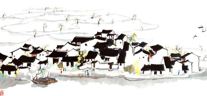 在新加坡开启吴冠中绘画与文学之旅