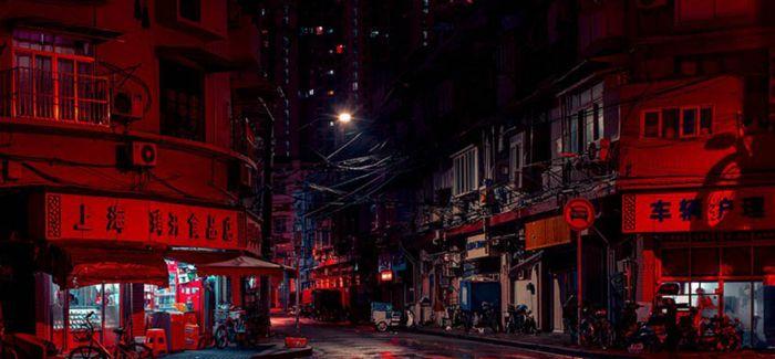 红色迷雾下的上海