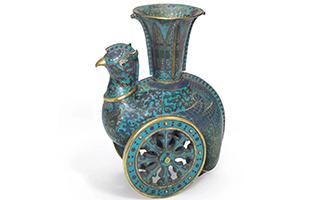 """佳士得纽约将推出""""中国瓷器及工艺精品""""拍卖"""