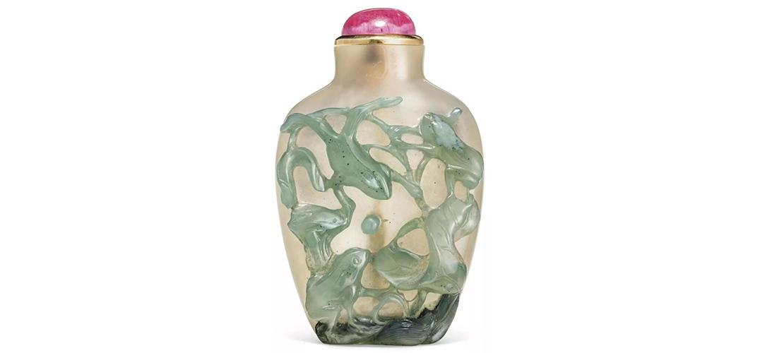 露芙及卡尔•巴伦珍藏中国鼻烟壶登陆纽约亚洲艺术周