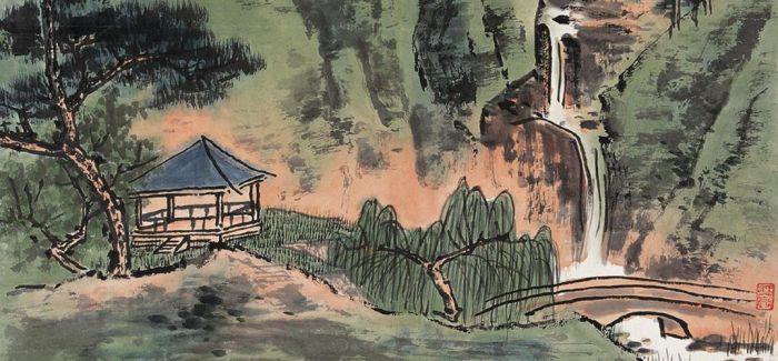 谢稚柳敲响中国文物艺术品拍卖第一槌