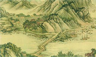 """跟着古代画家""""神游""""长江"""