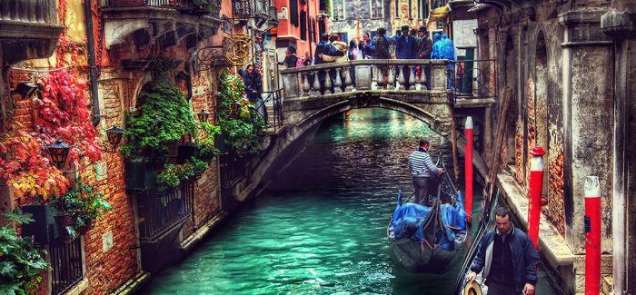 老城威尼斯 没有季节只有时间和阳光