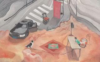中西合璧 广东书画作品开启文化交流新篇章