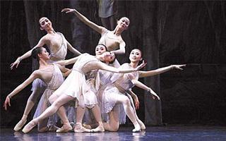 """""""芭蕾在中国""""中央芭蕾舞团交流会""""舞动""""开罗"""