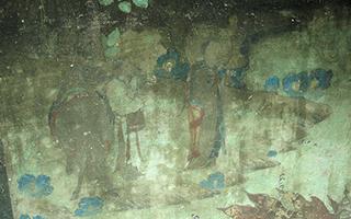 瓜州东千佛洞榆林窟唐里的唐僧取经壁画