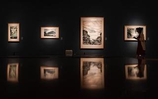 金志远徐孅伉俪艺术展在中国美术馆开幕