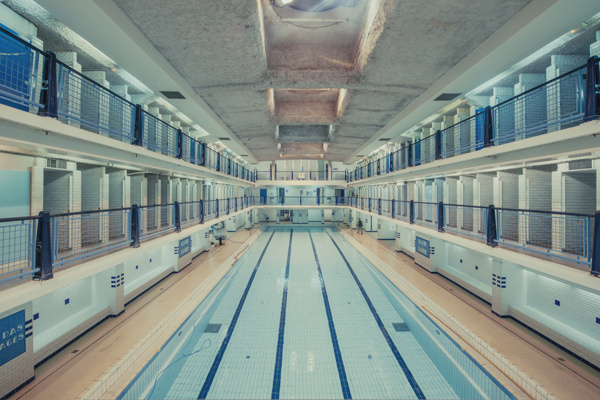 Franck Bohbot:清凉游泳池