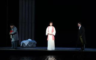 河北梆子实验戏剧《牺牲》在陕西省戏曲研究院演出