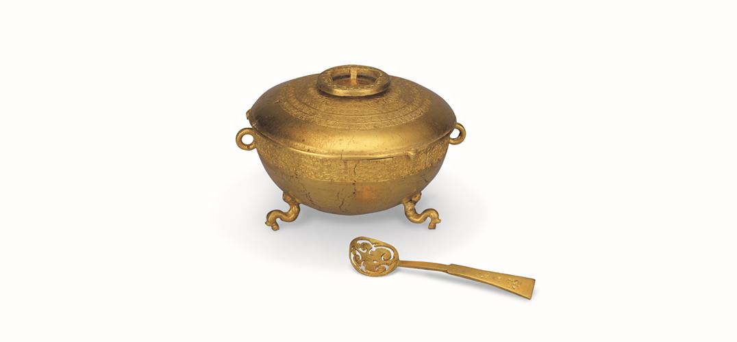 用金器诠释悠远的中华文明