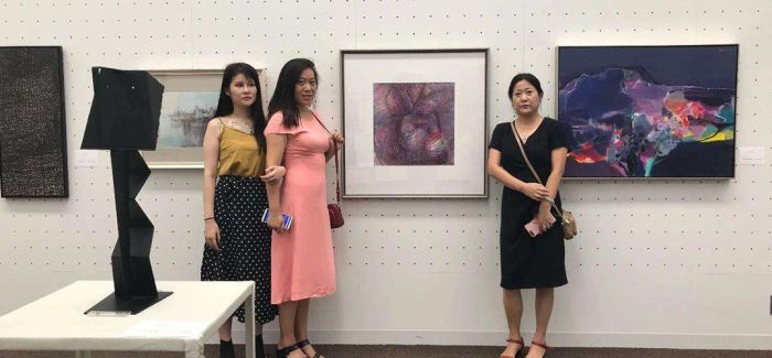 2018中日韩国际交流美术展黑龙江美术馆开展