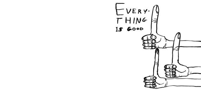 打破常规的艺术家 用线条表述自嘲与恐惧