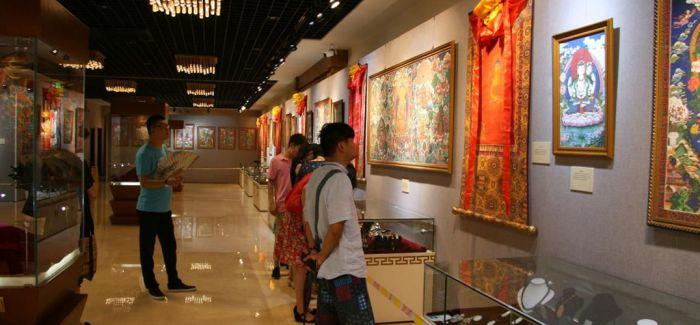第四届中国国际唐卡艺术节拉萨开幕