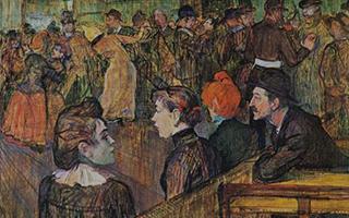 后印象派画家洛特雷笔下的巴黎蒙马特