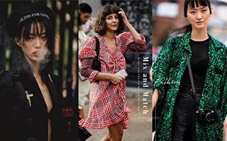 纽约时装周达人的混血美学