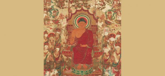 刺绣佛:日本早期佛教造像