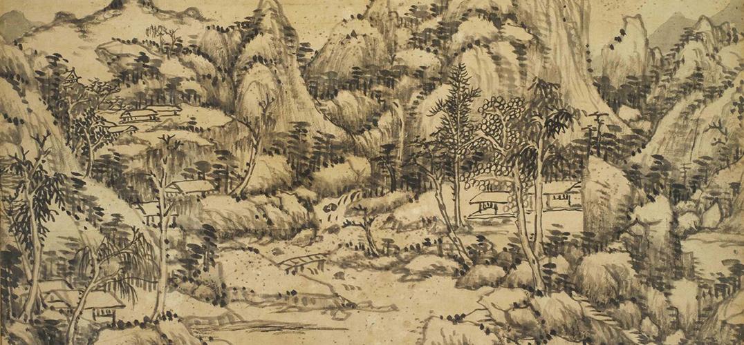 故宫院藏'四王'绘画特展在文华殿书画馆开幕