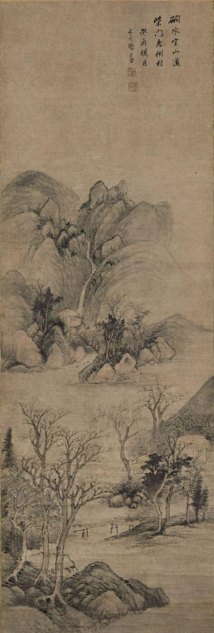 古代笔墨风景图片