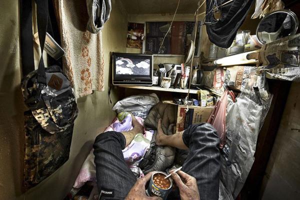 摄影作品欣赏:1.5㎡的香港梦