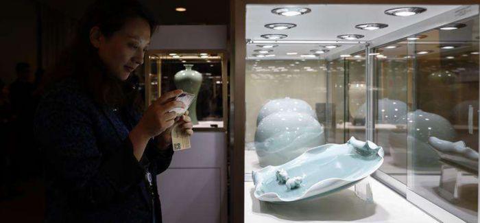 龙泉青瓷走向世界 85件珍品亮相联合国总部