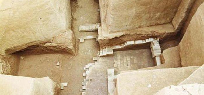 """陕西银西铁路基建考古发现罕见""""古墓相套"""""""