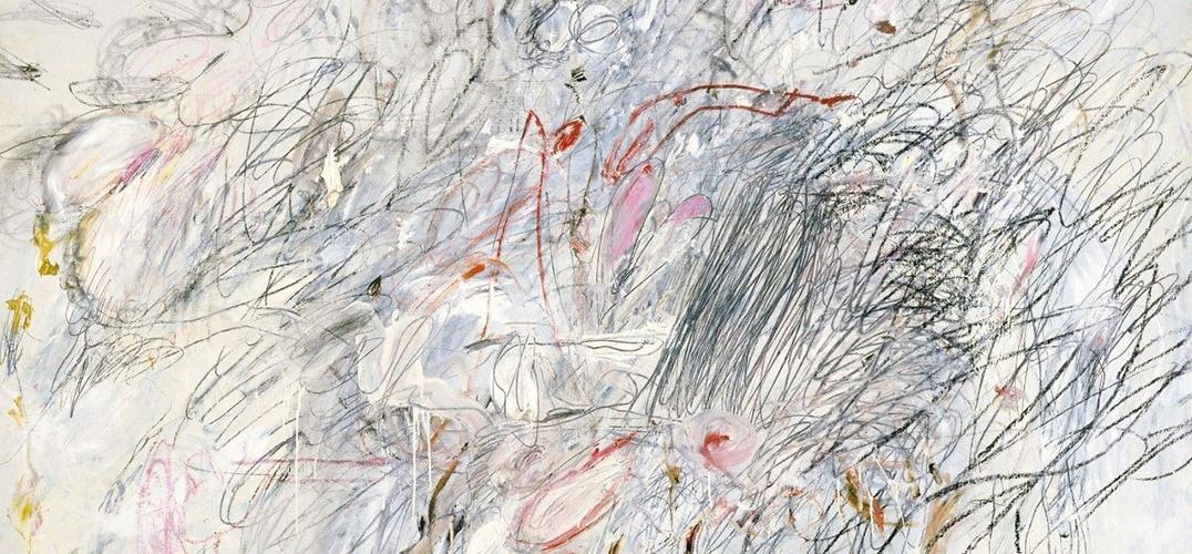 """塞·托姆布雷:把美女和天鹅用线条""""撕""""个粉碎"""