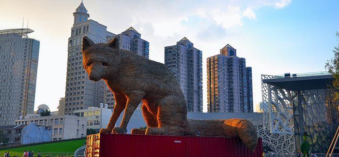 """世界雕塑艺术家携作品上海展现""""城市无界"""""""