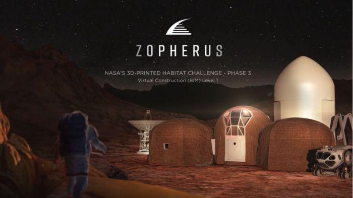 署流动站的构想获得了外太空栖息方案比赛的第一名-数字化情境中的